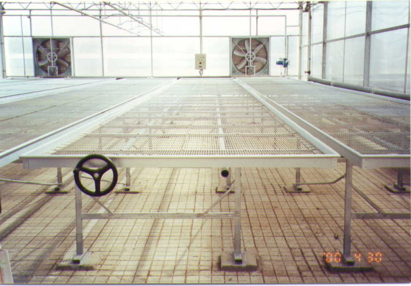 greenhouse bench systems